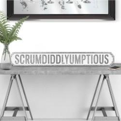 SCRUMDIDDLYUMPTIOUS Street Sign