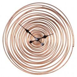 Copper Wire Spiral Clock